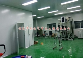 石家庄恒芯科技电子净化厂房工程