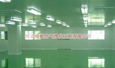 河北衡水净化车间装修|彩钢板净化厂房安装|河北峰帆净化工程专业