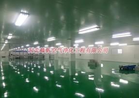 河北GMP标准净化车间厂房车间净化药厂洁净厂房找峰帆净化工程