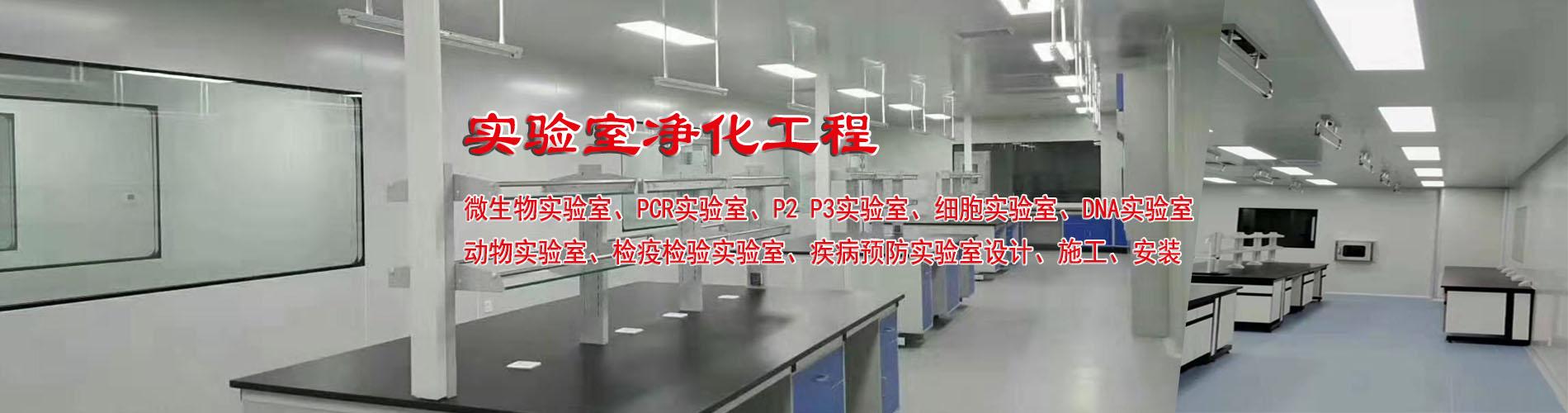 河北实验室净化工程、微生物实验室、细胞实验室、P2P3实验室、PCR实验室设计施工