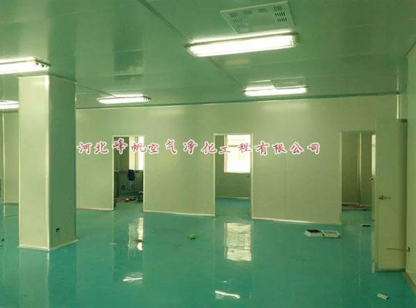 河北净化车间洁净室洁净间无尘无菌净化厂房设计施工选峰帆净化